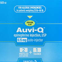 آوی کیوی تزریقی - Auvi-Q injection